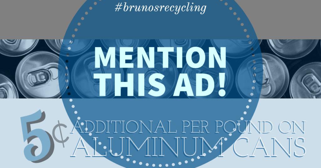 aluminum can coupon